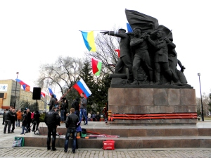 Антимайданът в Николаев.
