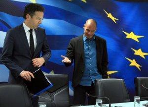 Шефът на Еврогрупата напусна срещата с новия гръцки финансов министър, след като Янис Варуфакис обяви, че с Тройката вече е свършено